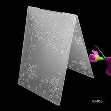 2017 New Arrival Scrapbook Snowflakes Design DIY Paper Cutting Dies Scrapbooking Plastic Embossing Folder