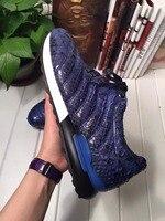 2018 натуральная натуральной кожи питона мужская обувь, наивысшего качества змеиной кожи ручной работы мужская обувь цвета черный, Синий Бес