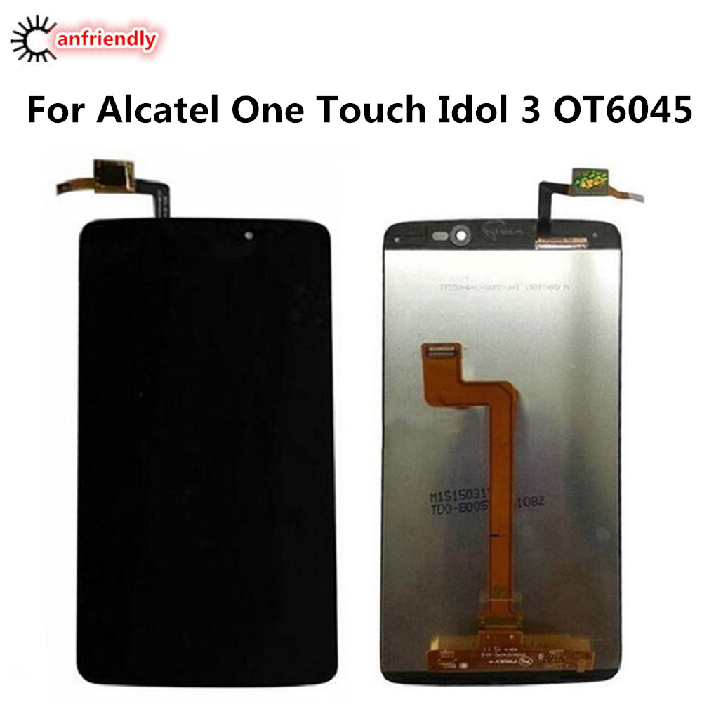 US $28 49 5% OFF For Alcatel One Touch Idol 3 OT6045Y OT6045 OT 6045 LCD  Display+Touch Screen Replacement Digitizer Assembly phone lcds screen-in