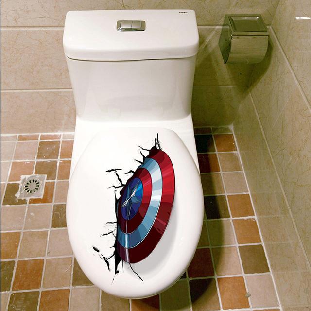 Captain America Shield Wall Sticker