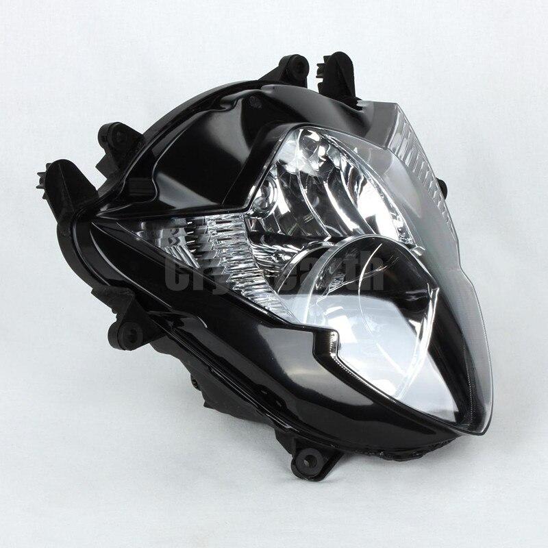 Voor Suzuki 05 06 GSXR1000 GSXR 1000 08 09 GSX650F GSX 650F Motorfiets Koplamp Head Light Lamp koplamp CLEAR 2005 2006 - 3