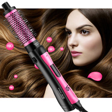 2019 heißer Verkauf Haar Pinsel Roller Styler Haar Trockner One-Schritt Pinsel & Volumizer Negative Ionen Generator Haarglätter curler