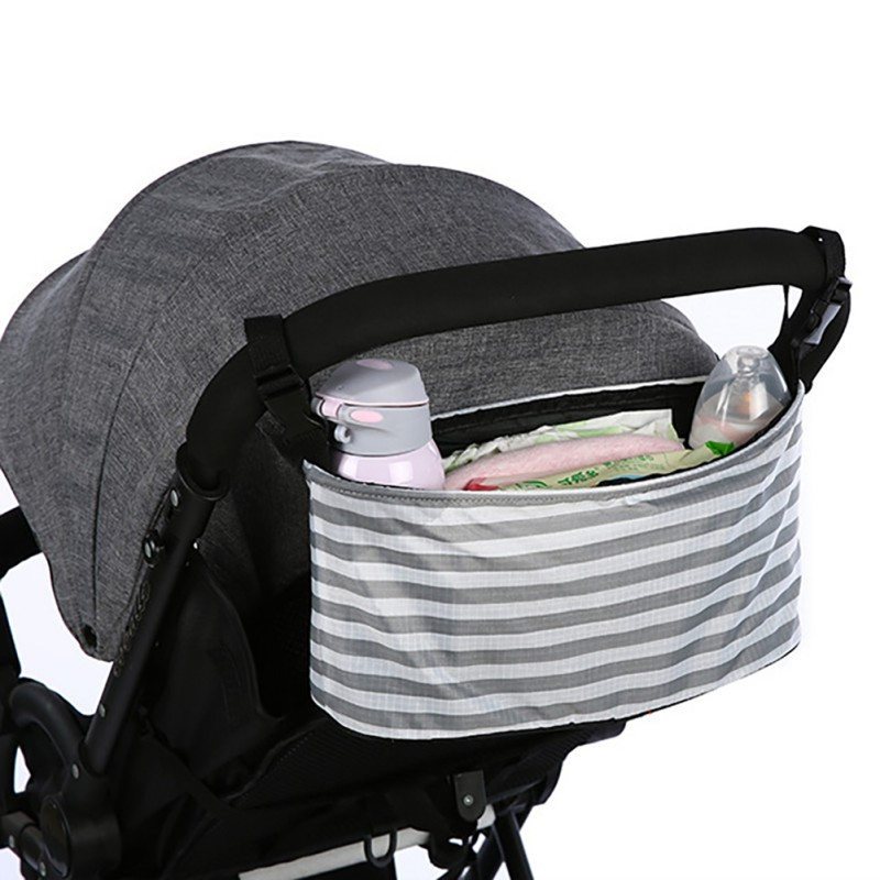Maternity Bag For Stroller in Baby Diaper Accessories Striped Bag Large-capacity Mother bag stroller 1 3 printMaternity Bag For Stroller in Baby Diaper Accessories Striped Bag Large-capacity Mother bag stroller 1 3 print