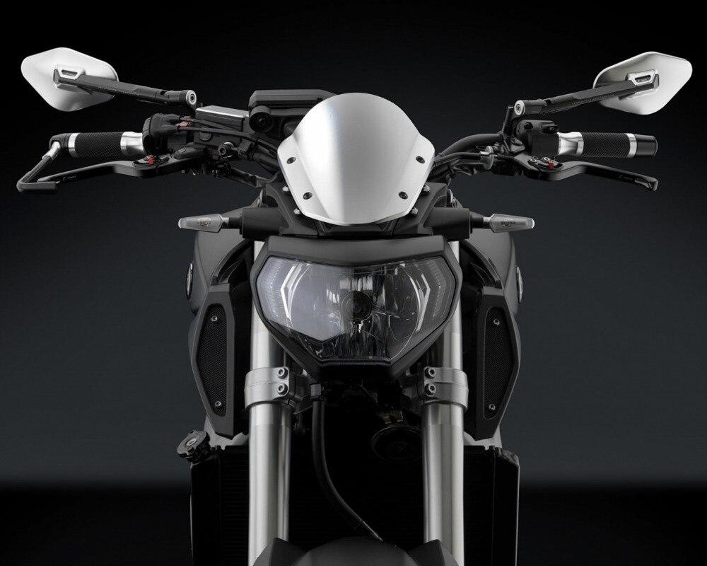 Specchietto laterale del motociclo di Alluminio di CNC retrovisore Per ELISSE Honda Shadow Yamaha Kawasaki Z750 Z800 Suzuki KTM BMW Ducati HYOSUNG