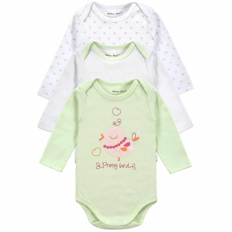 Дешевая цена, 3 шт./партия, боди для малышей, одежда для малышей с длинными рукавами, зимние комбинезоны для младенцев, комплект одежды для новорожденных мальчиков и девочек, комбинезон