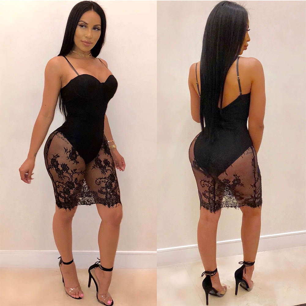 VAZN 2018 Summer Hot Sexy Strapless Mini Dress Women Solid