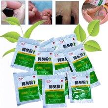 10 Bags Fungal Infections Foot Bath Powder Feet Care Athletes Foot Foot Odor Sweat Itching Peeling Beriberi Tinea Pedis