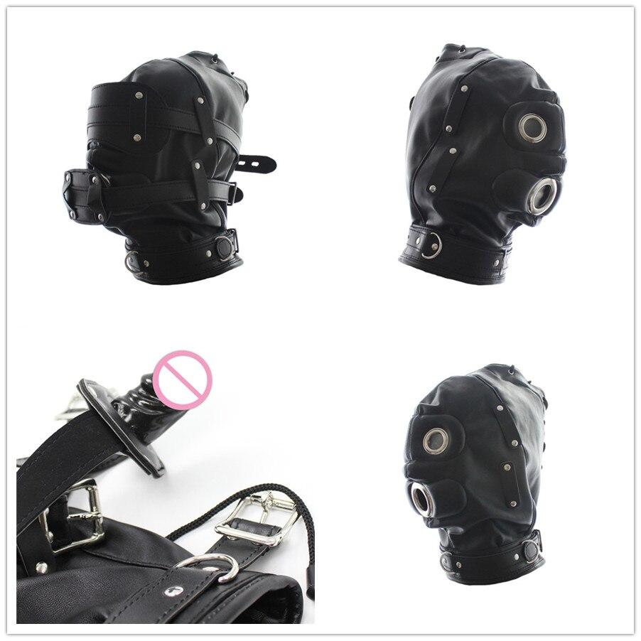 Leather Fetish Mask 36