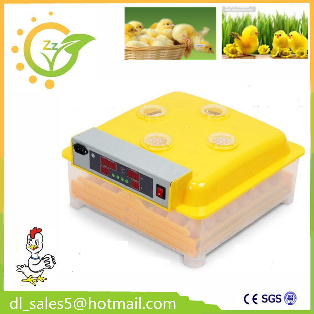 China Best Price Mini 48 Eggs Incubation Equipment Duck Eggs Chicken Egg Incubator Hatcher Automatic Hatching Machine ZZ48 high quality best selling mini industrial egg incubator of 48 eggs for sale commercial hatcher incubadora de huevos automatica