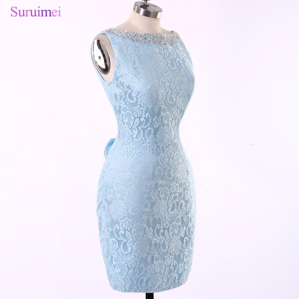 Popular Short Light Blue Dresses for Juniors-Buy Cheap Short Light ...