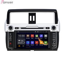 "8"" Quad Core Android 5.1 Car Stereo GPS For TOYOTA PRADO/LC150/PRADO 150 High level 2014- With DVD Radio Mirror Link Free Ship"