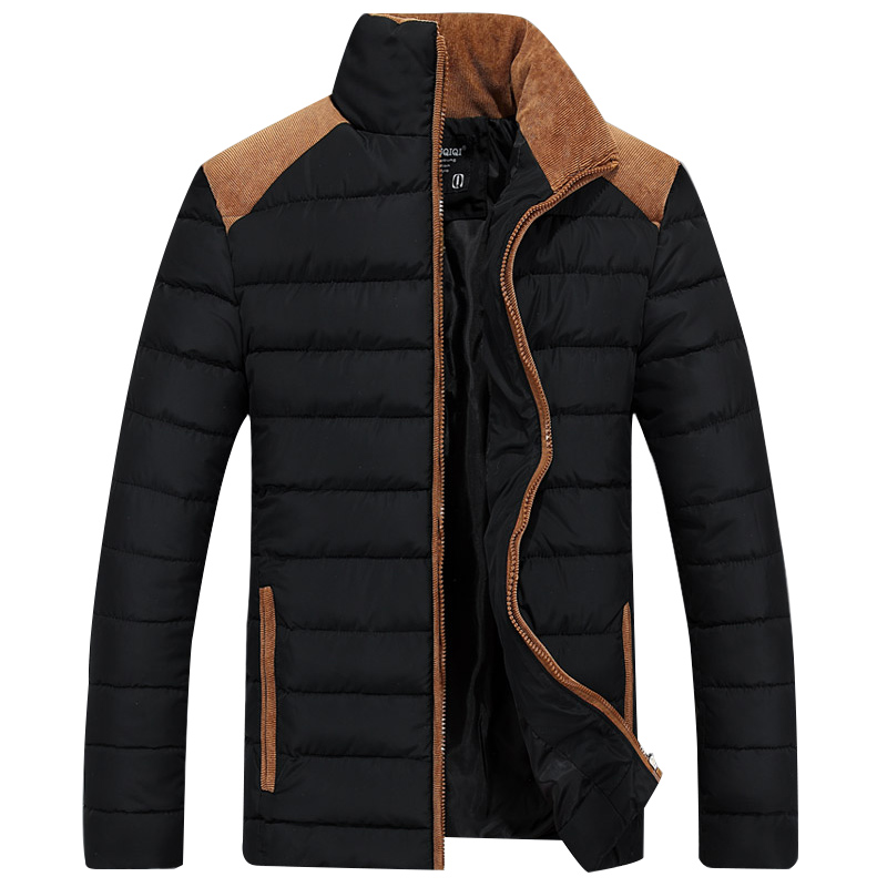Fashion Stand Collar Jaket Homme High Quality Waterproof   Parkas   Hombre