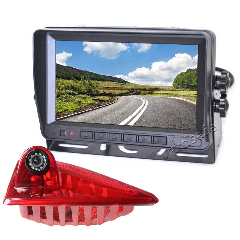 Vardsafe VS867M | Kit de caméra de recul feu de freinage pour Renault Master/Opel Vauxhall Movano/Nissan NV400 (2010-2019)