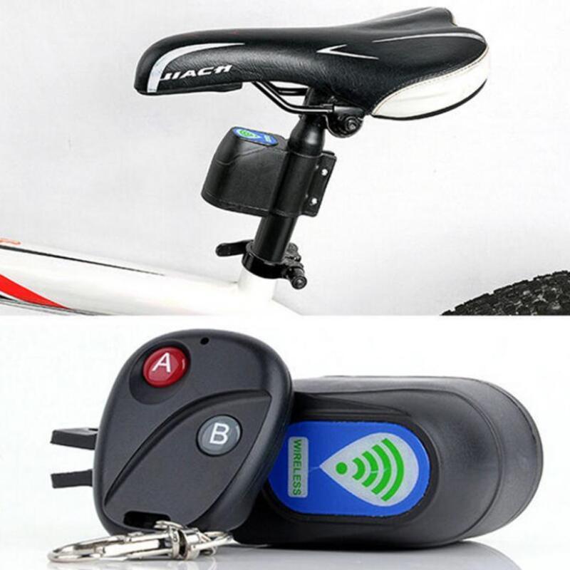 Bicycle Wireless Remote Control Anti-Theft Alarm, Shock Vibration Sensor Bicycle Bike Security Alertor Cycling LockBicycle Wireless Remote Control Anti-Theft Alarm, Shock Vibration Sensor Bicycle Bike Security Alertor Cycling Lock