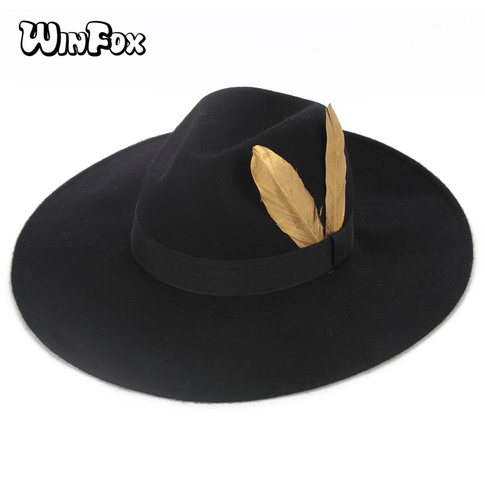 5655ca9d927 Buy fedora feather hat and get free shipping on AliExpress.com