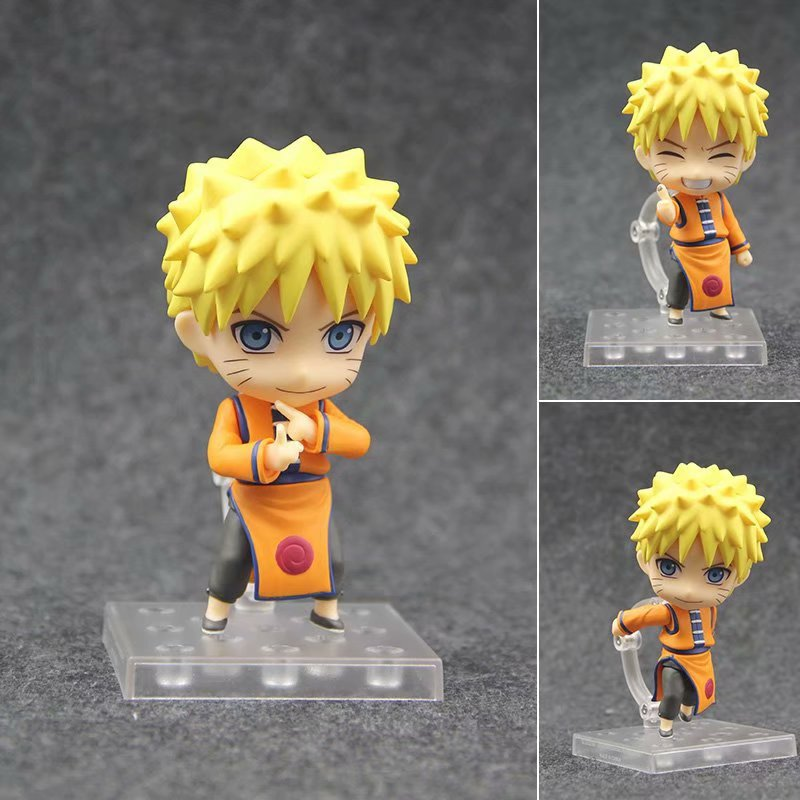 10cm Naruto Uzumaki Naruto Nendoroid Action Figure PVC New Collection figures toys brinquedos Collection for Christmas gift