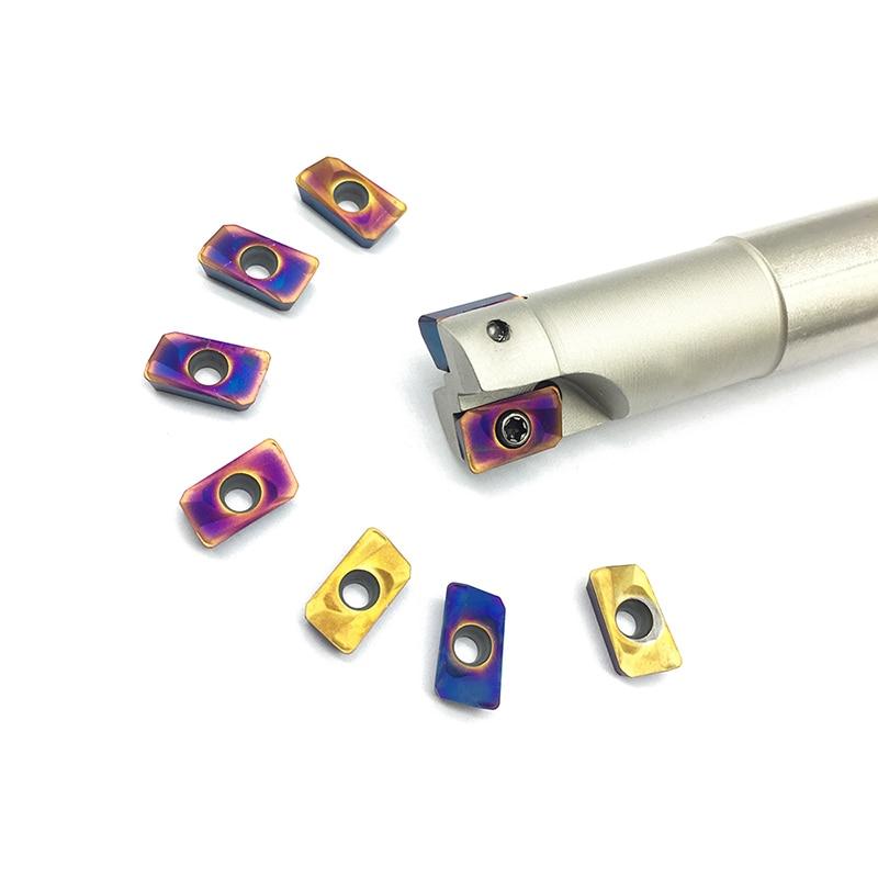 APMT1135 PDER 10PCS+1PCS BAP300R 14MM / 15MM / 16MM / 19MM /20MM 2T Milling holder carbide insert Shoulder milling tools cutter