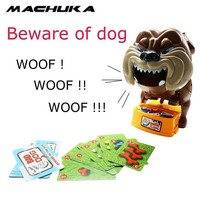 MACHUKA Entertainment Beware van hond Vlok Uit Slechte Hond Botten Card lastig Speelgoed Games Voor Kid Play Fun Family Party Club Board Games
