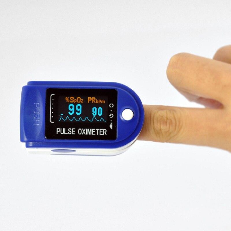Oxímetro de Pulso Contec Spo2 no Sangue Contec