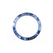 CARLYWET Wholesale High Quality Aluminum Blue With White Writing Watch Bezel Insert for Seamaster Professional