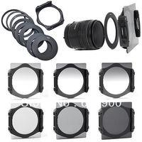 100% garanti tam + mezun filtre seti + 52mm 58mm 72mm 77mm adaptör halkası cokin için p