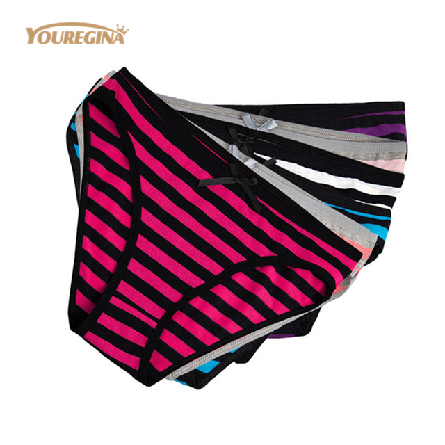fb821502b8f YOUREGINA Woman Underwear Cotton Sexy Lace Everyday Style Panties Briefs  Ladies Knickers Intimates for Women M-XXL 5 pcs lot