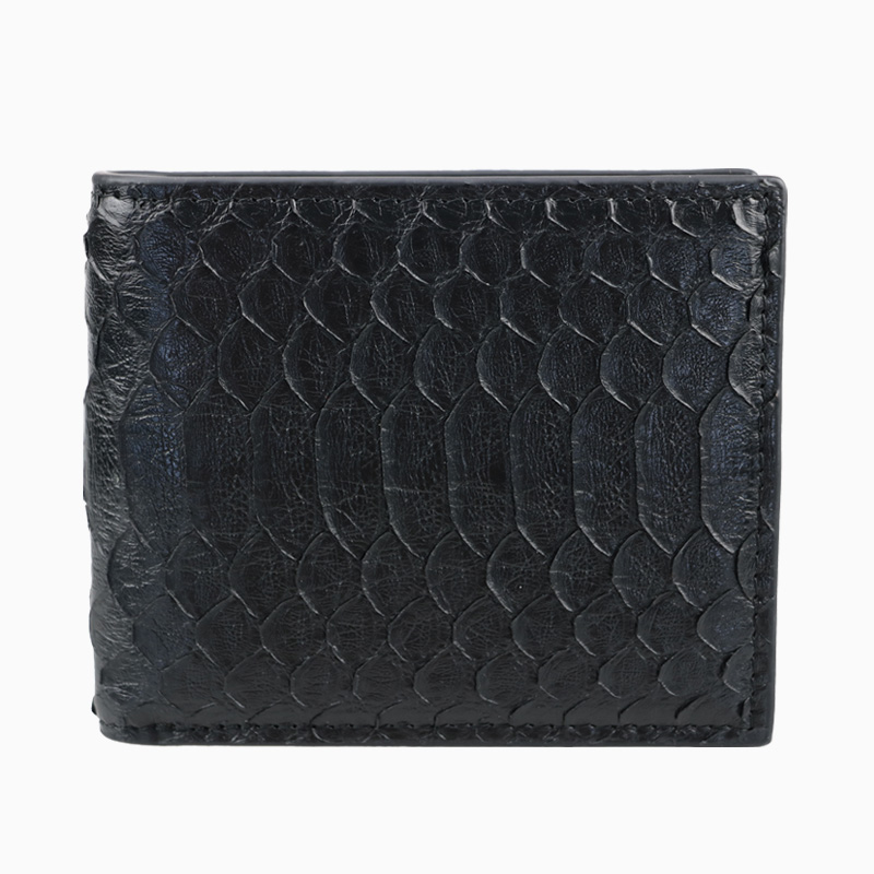 100% Real Exotic Snake Python Skin Plånbok Kvinnor Kort Äkta Python Läder Plånbok Luxury Mixed Male Purses Money Clip