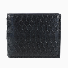 Luxury mixed color real exotic snake python skin wallet short genuine python leather wallet