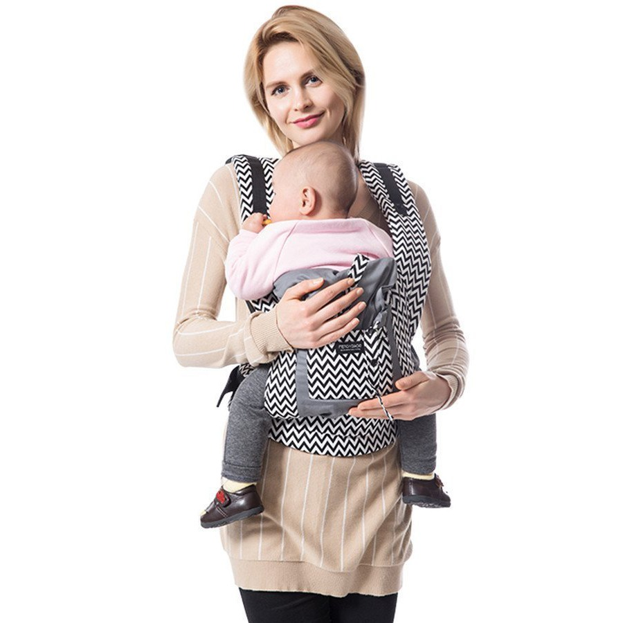 Egmao Baby New Baby Sling Baby Carrier Wrap For Newborns Striped