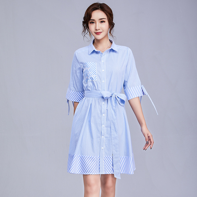 Elegant Summer Dress 2019 Casual Cotton Black Blue Red Maxi Robe Sundress Female Gown Women Clothings Office Sexy Party Dresses in Dresses from Women 39 s Clothing