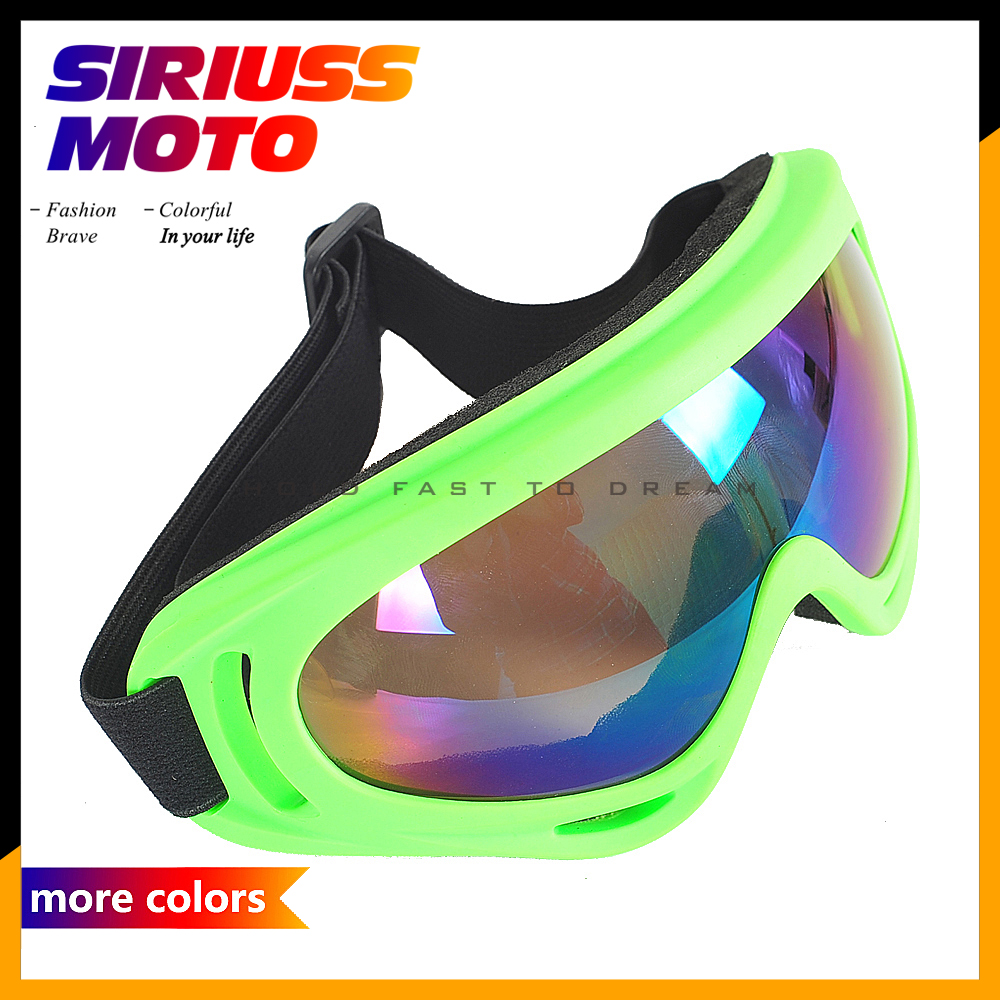 Motorcycle Protective Glasses Outdoor Sports Windproof Dustproof Eye Glasses Ski Snowboard Goggles Motocross Riot Control