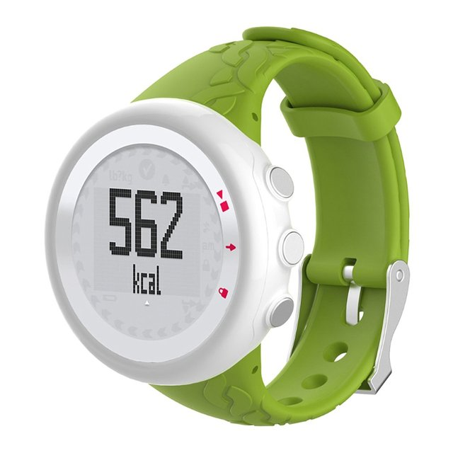 ONLENY Soft Silicone Wrist Watch Band Strap Adjustable Smart Bracelet Watch