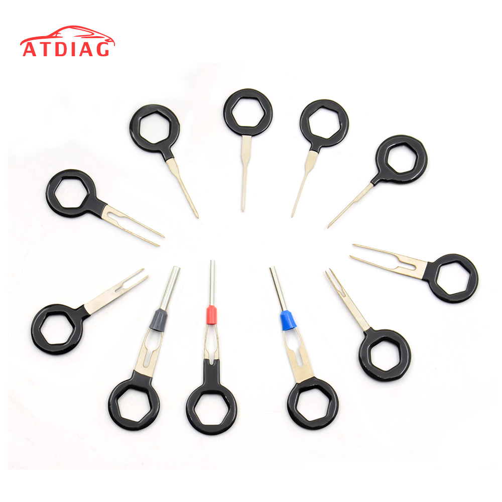 best 11 pcs auto car plug circuit board wire harness terminal extraction pick connector crimp