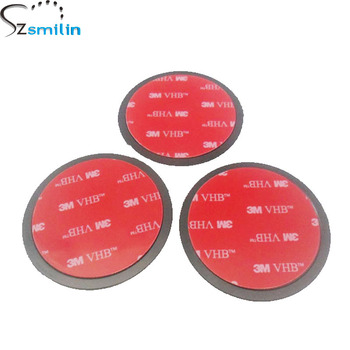 3pcs/lot Universal 3M VHB Round Disc Sticky Pad Car Camera GPS Mobile Phone Dashboard Desk Glue Stand Mount Holder 65mm Diameter artificial nails