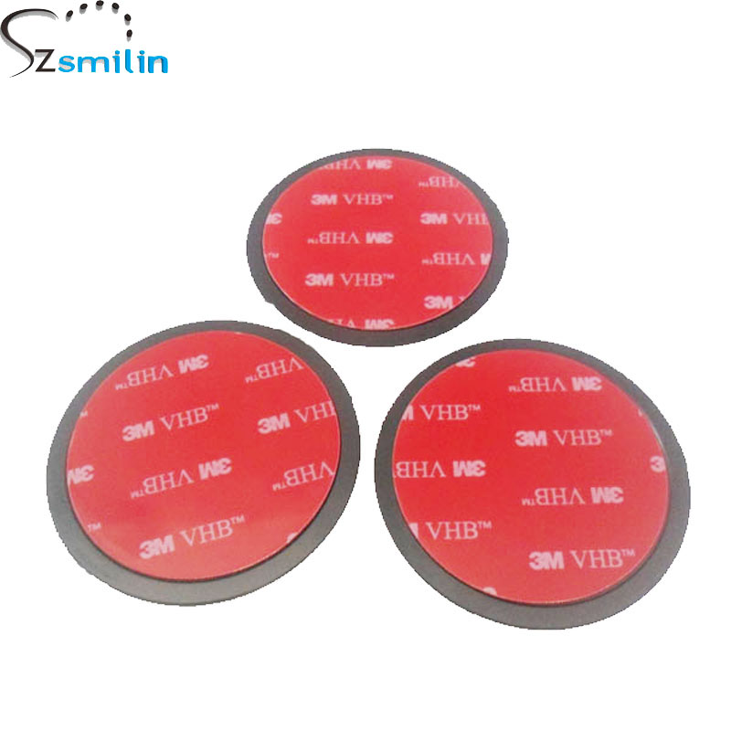 3pcs/lot Universal 3M VHB Round Disc Sticky Pad Car Camera GPS Mobile Phone Dashboard Desk Glue Stand Mount Holder 65mm Diameter baby toys