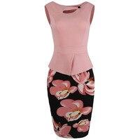 Sisjuly Women Summer Dress Double Layer Women Floral Print O Collar Cotton Mid Calf Dress Female