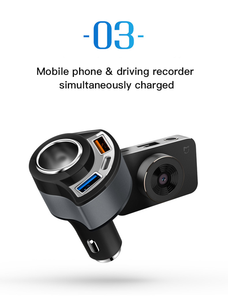 QC 3.0 USB Type C Car Charger (11)