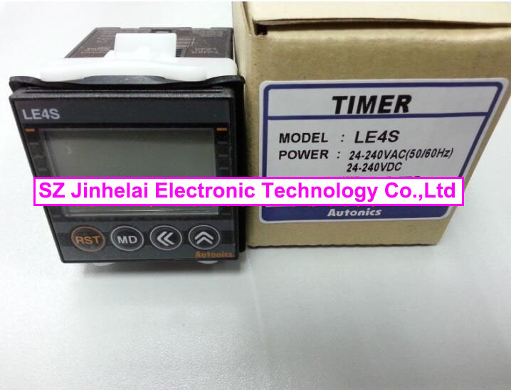 100% New and original  LE4S  AUTONICS   TIMER