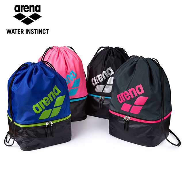 Arena New Arrival Light Weight Swimming Backpack Dry   Wet Sperate Swim Bag  Drawstring Bag 4 colors for Chosen fe88e8a940936