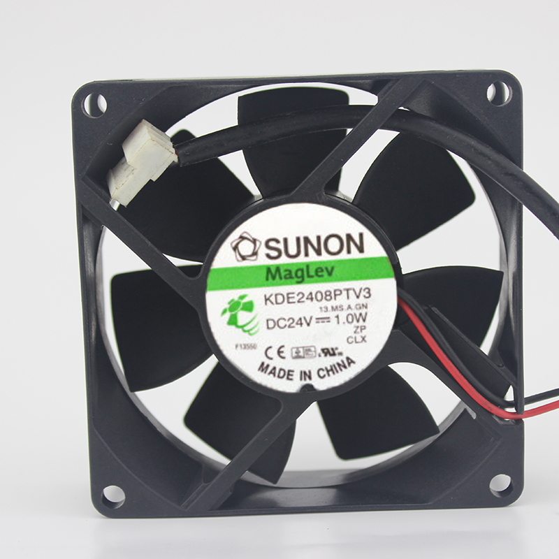 ADDA AD0824HB-D71 Double ball cooling fan DC24V 0.13A 80*80*15mm 2pin