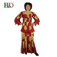 Free Shipping Africa Bazin Riche 100 WAX Fabric Traditional Embroidery Craft Woman Skirt Coat Top