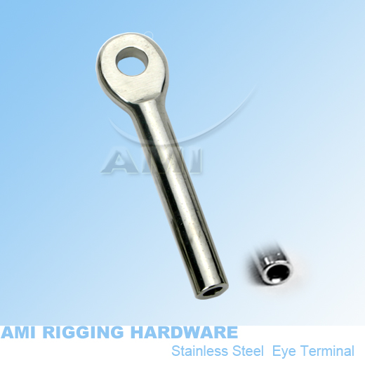 8MM Stainless Steel Swaged Swivel Toggle Terminal Marine Swage Rigging