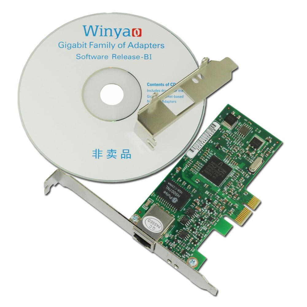 WY5722T1 PCI E X1 Gigabit Ethernet Network Card 10/100/1000Mbps ...