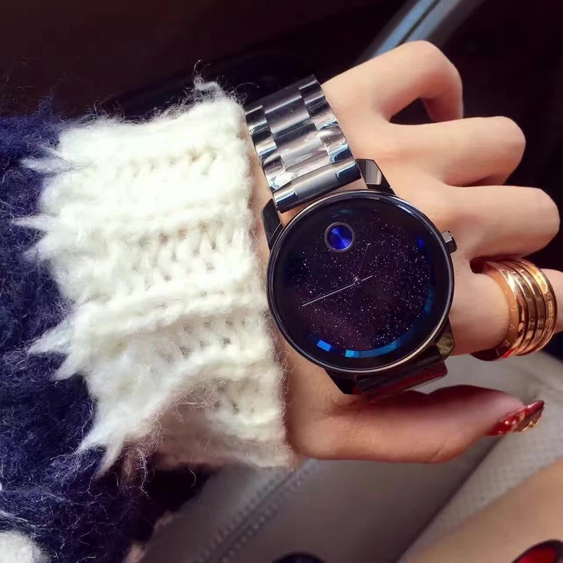 Luxury Brand Roes Gold Watch For Women Top Quality 316L Stainless Steel Full Crystal Cool Watches