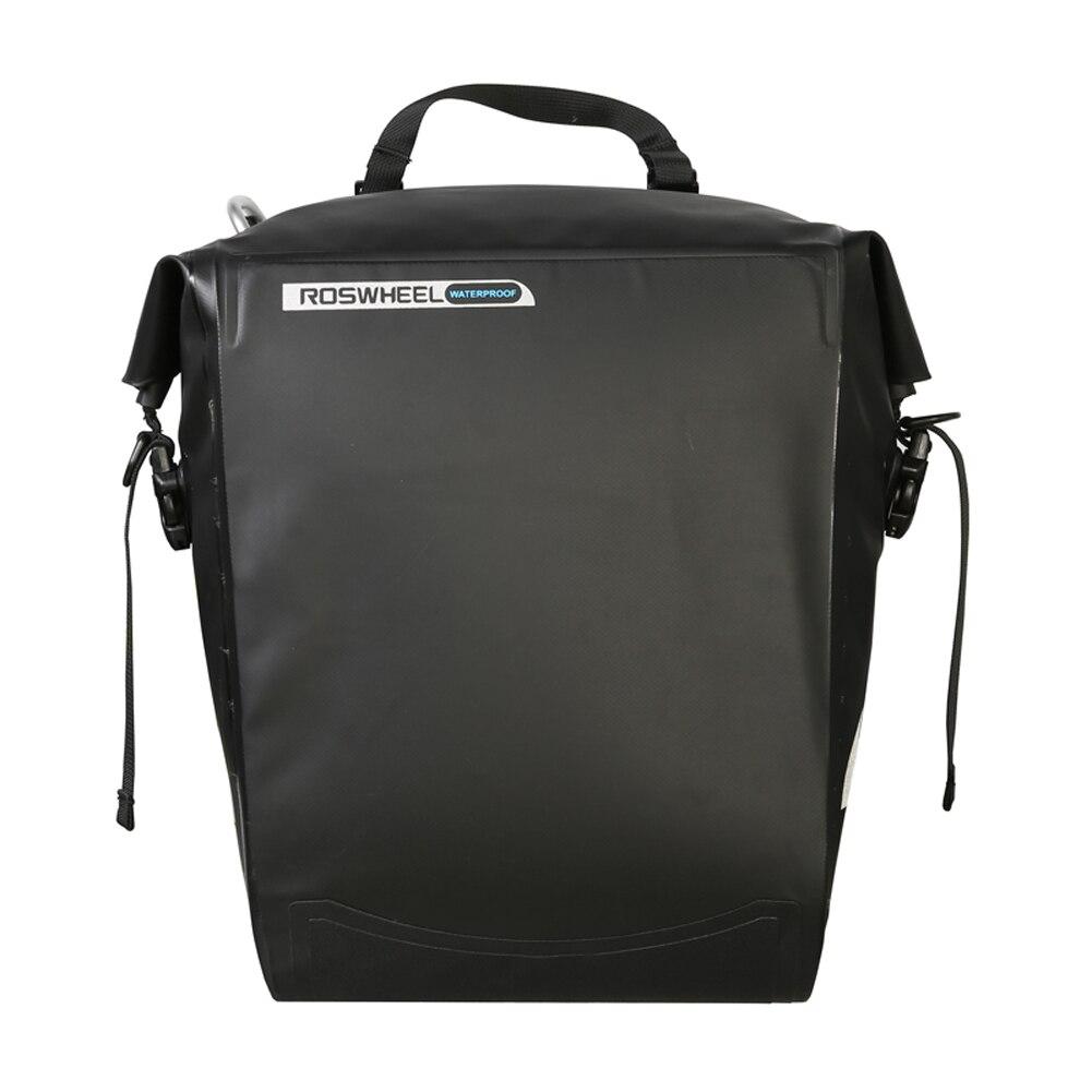 20L Bike Bicycle Rack Bag Cycling Panniers Waterproof PVC Outdoor Sports MTB Bike Rear Tail Bag Trunk Pannier встраиваемая электрическая варочная панель teka ibr 6040