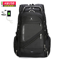 swiss 8810 sac a dos usb 17 business travel laptop Backpack mochila male backpacking Laptop Backpack Sac A Dos Men Backpack