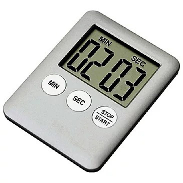 Kitchen Timers Carts With Wheels Fashion Simple Super Thin Lcd Digital Screen Timer Square Cooking Count Up Countdown Alarm Magnet