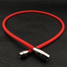 Venta caliente ~ ~ deportes germanio collar de iones negativos de energía/energía de Germanio de titanio collar