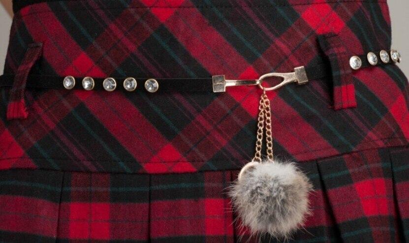 Зимние юбки женские новые Модные осенние классические открытые кружевные теплые Плиссированные Мини Короткие Клетчатые Шерстяные Юбки