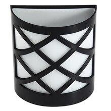 Waterproof Wall-Mounting Solar Charging LED Lamps 4 pcs Set